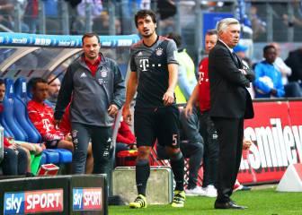 Hummels viaja con el Bayern; Costa y Badstuber únicas bajas