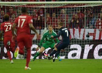 En el Bayern ya hay pánico a Griezmann; 3 goles a Neuer