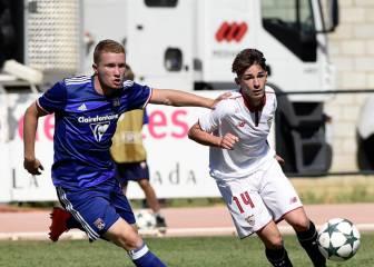 El Sevilla vence sobre la bocina