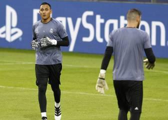 Keylor, titular ante el Dortmund