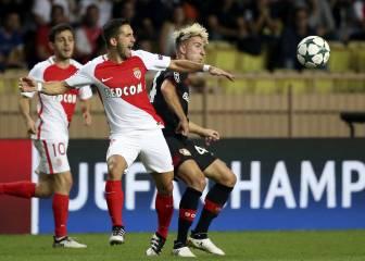 Glik salvó un punto para el Mónaco en el minuto 94