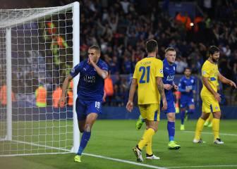 Slimani deja al Leicester más cerca de la clasificación