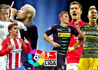 La Liga y la Bundesliga se ven las caras en la Champions