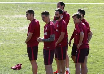 Carrasco, Torres y Griezmann, ataque contra el Bayern