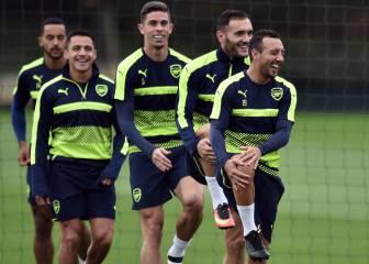 Giroud y Coquelin, ausencias del Arsenal ante el Basilea