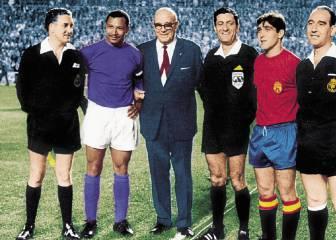España-Resto del Mundo, homenaje a Zamora (1967)