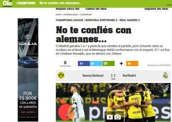 La prensa habla de un Madrid infectado de