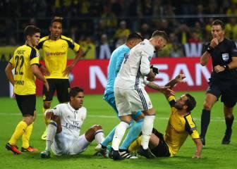 Al Madrid de Zidane nunca le tiraron tanto como en Dortmund
