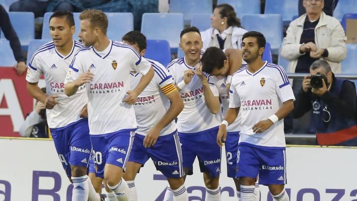 El Zaragoza, a encadenar cuatro triunfos en La Romareda