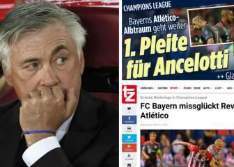Alemania no perdona y habla de primer 'fracaso' de Ancelotti