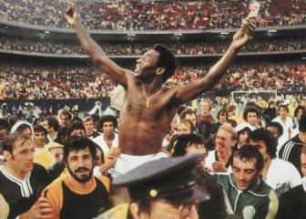 Pelé se despide en Nueva York del fútbol (1977)