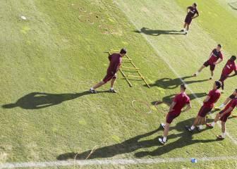 Habrá césped nuevo en los dos campos donde entrena el Atleti