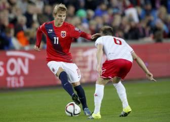 Noruega no convoca a Odegaard por no haber salido cedido