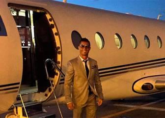 El avión de Cristiano sufrió un accidente en Barcelona