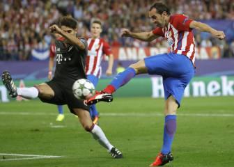 Godín no se entrenó y es duda para el duelo ante el Valencia
