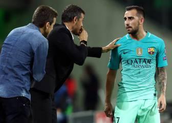 El Barcelona innova: del 'falso nueve' a dos delanteros
