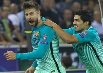 Piqué está de dulce y en líder: once goles en la Champions