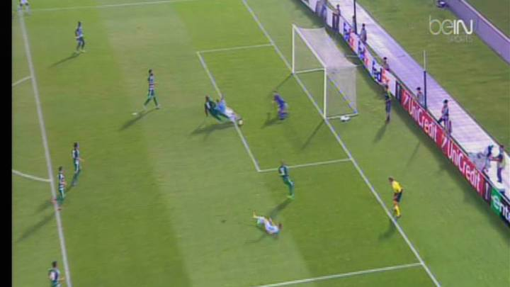 El Celta reclamó penalti sobre Guidetti y el Panathinaikos otro