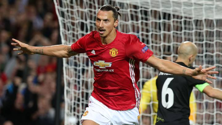 Un gol de Ibrahimovic da la primera victoria al United