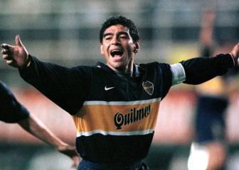 30S: Maradona juega su primer amistoso tras su positivo