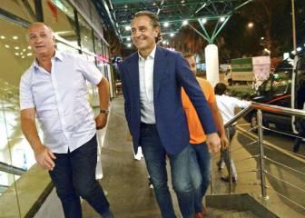 Prandelli estuvo con Lim en Singapur... y con Scolari