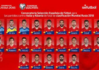 Callejón, Isco, Nacho y Rico, novedades ante Italia y Albania