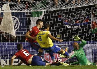 David García silencia El Sadar con un gol en el minuto 92