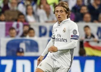 Luka Modric estará un mes de baja por una lesión de rodilla