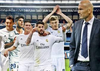 Las soluciones de Zidane ante las bajas de Modric y Casemiro