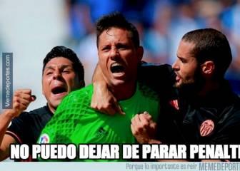 Los mejores memes sobre los penaltis parados de Diego Alves