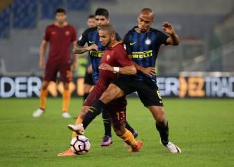 El Roma tumba al Inter y se acerca al segundo puesto