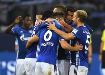 El Schalke estrena su casillero goleando al Gladbach