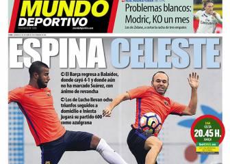 Respeto máximo a Balaídos en la prensa de Barcelona