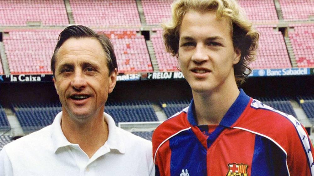 A Cruyff no le quisieron dejar registrar a su hijo como Jordi - AS.com fb4cba6a6f9