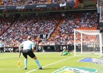 1x1 del Valencia: Super Alves no fue suficiente para ganar