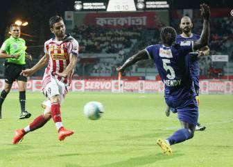 Molina debuta en el banquillo del Kolkata con un empate