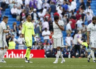 8 razones que explican los 4 empates seguidos del Madrid