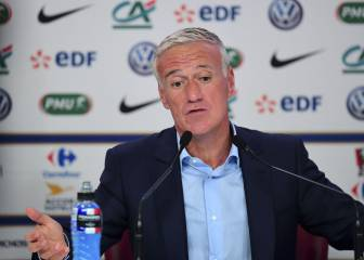 Deschamps dice que entiende la renuncia de Mathieu