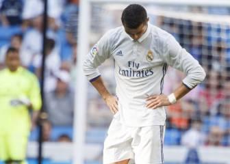 Cristiano, contra los pitos del Bernabéu: