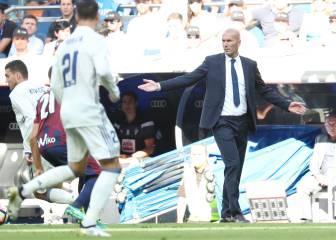 Zidane, a la plantilla: