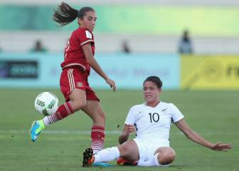 Spain's U17s cruise through to the quarter finals in Jordan