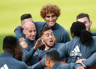Hazard se rinde a Roberto Martínez y al estilo español