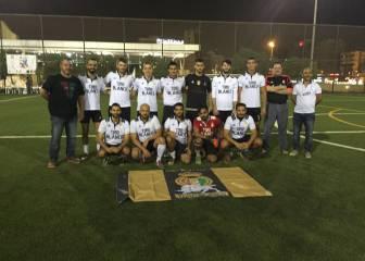 Gran actuación en Kuwait de la Peña Madridista Toro Blanco