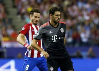 El Bayern confirma la baja indefinida de Javi Martínez