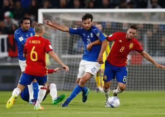 Italia 1 - 1 España: resumen, resultado y goles del partido
