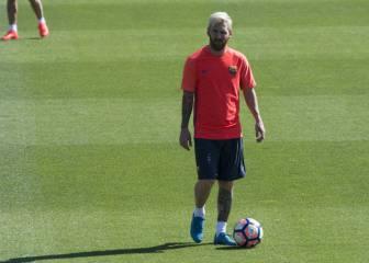 Umtiti y Messi pueden reaparecer ante el Deportivo