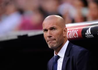 Zidane tiene 5 conflictos en la plantilla que debe resolver