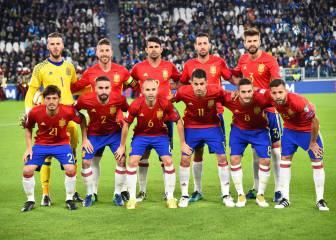 1x1 de España: Vitolo luce, Koke manda y Ramos mete la pata