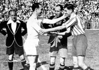 Primer derbi madrileño después de la guerra (1939)