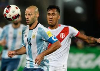 Mascherano explota tras su fallo ante Perú: